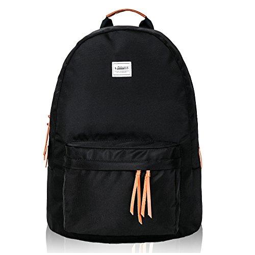 Fabuxry リュック レディース メンズ 大容量 通学通勤 スポーツ シンプル オシャレ 人気 軽量 黒
