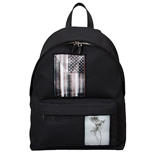 GIVENCHY ジバンシィ メンズ BJ05763184 CI BACK PACK Patchwork Iconic リュックサック リュック デイバッグ バックパック カラー001/ブラック [並行輸入品]