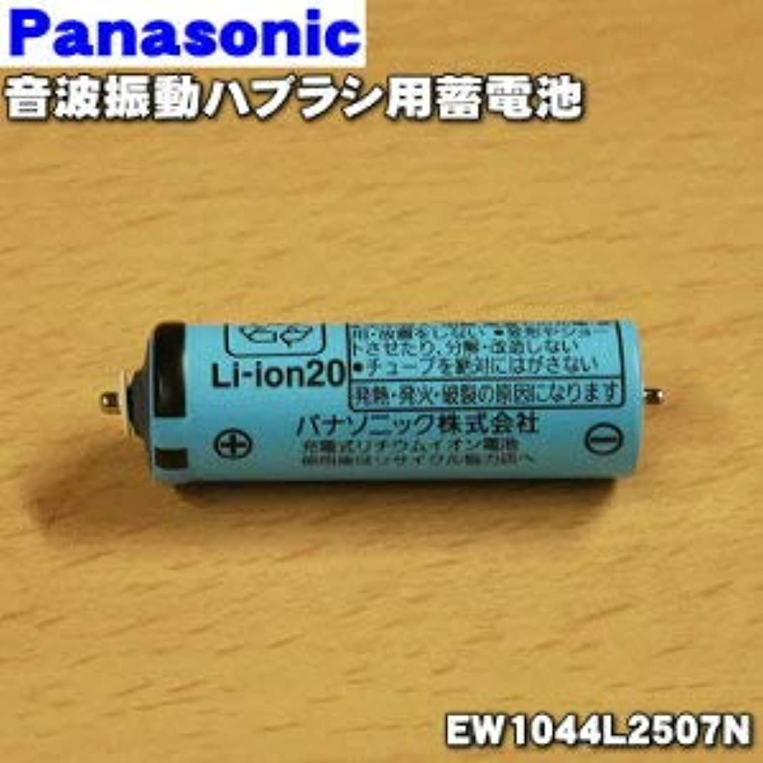 わなお母さん国際【ゆうパケット対応品】 パナソニック Panasonic 音波振動ハブラシ Doltz 蓄電池交換用蓄電池 EW1044L2507N