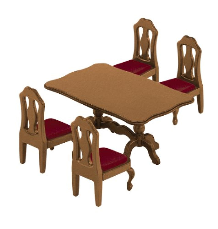 シルバニアファミリー キッチン / ダイニングルーム ファミリーテーブル カ-401