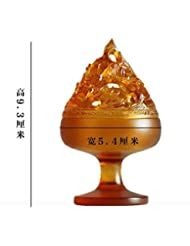 【Lenni】仿古博山炉 香道 博物館模倣 瑠璃アロマ香炉 沉香熏香炉