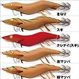 林釣漁具製作所 エギ エギ 餌木猿 神明 壱号 3.5号 茶マツバ 赤テープ