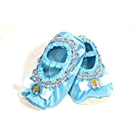 Dress It Up Cinderella Disney Princess Slippers Blue