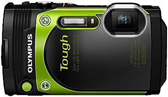 OLYMPUS コンパクトデジタルカメラ STYLUS TG-870 Tough グリーン 防水性能15m 180°可動式液晶 TG-870 GRN