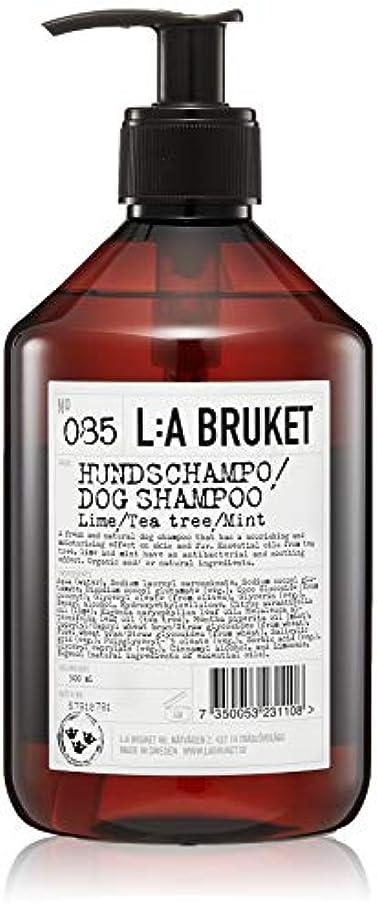 ペチコートブロンズ幸福L:a Bruket (ラ ブルケット) ドッグシャンプー(ライム?ティーツリー?ミント)500ml