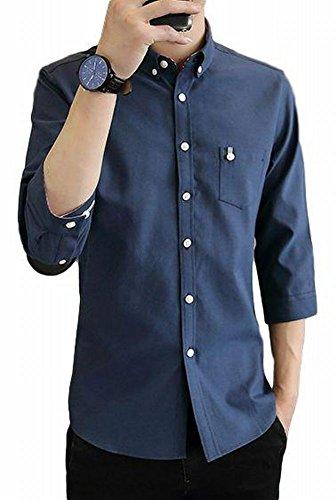 (ヴォンヴァーグ) ventvague ワイシャツ レギュラー カラー ビジネス カジュアル オシャレ オフィス フォー...