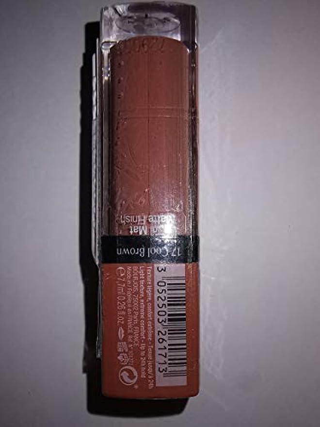 慎重に自治的シンカンBOURJOIS バージョンベルベットの口紅171デポ液体口紅。