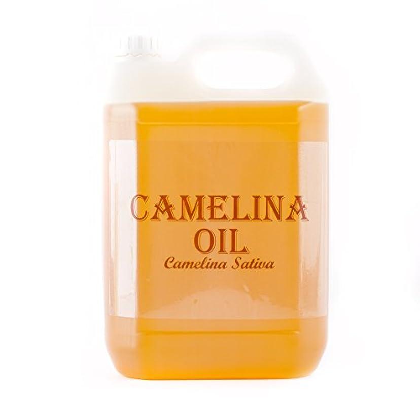 薬用商標食べるMystic Moments | Camelina Virgin Carrier Oil - 5 Litres - 100% Pure