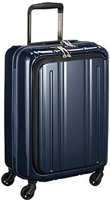 [エバウィン] 軽量スーツケース Be Light フロントオープン 機内持込可 機内持込可  30L 55cm 2.8kg EW31240 NV パールダークブルー