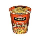 明星 中華三昧 タテ型カップ 赤坂榮林(エイリン) 酸辣湯麺(スーラータンメン) 1ケース(12食入)