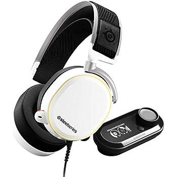 【国内正規品】密閉型 ハイレゾ対応 USB DAC ゲーミングヘッドセット SteelSeries Arctis Pro + Game DAC White 61454