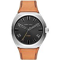 Diesel Men's Quartz Watch analog Display and Leather Strap, DZ1883