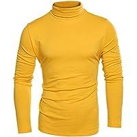 Coofandy Mens Casual Slim Fit Short Sleeve Henley T-Shirts V Neck Basic Designed Tee Top