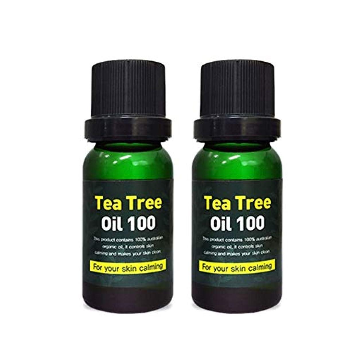 繁雑時代遅れ気配りのあるスキンアイシークレットプラントティーツリーオイル100 10mlx2本セット 韓国コスメ、Skineye Secret Plant Tea Tree Oil 100 10ml x 2ea Set Korean Cosmetics...