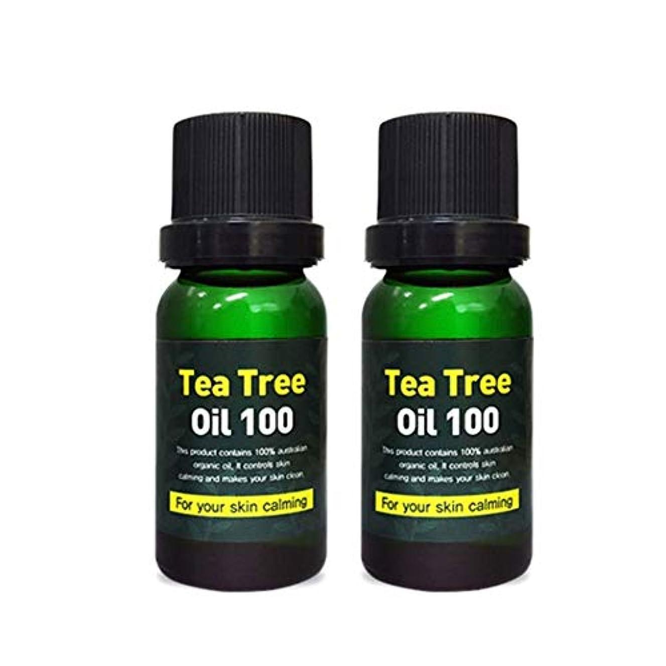 過剰パターン通知スキンアイシークレットプラントティーツリーオイル100 10mlx2本セット 韓国コスメ、Skineye Secret Plant Tea Tree Oil 100 10ml x 2ea Set Korean Cosmetics...