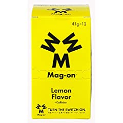 スポーツサプリメント Mag-onマグオン エナジージェル レモン 12個入り TW210179