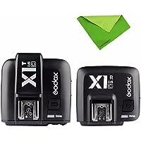 Godox e-ttl 2.4Gワイヤレスフラッシュトリガーx1C Canon 6d 7d 60d 650d 700d 5diii tt685C v860Cフラッシュスピードライト+ EACHSHOTクリーニングクロス