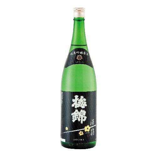 梅錦山川 清酒 梅錦 純米吟醸 原酒「酒一筋」 1800ml [ 日本酒 ]