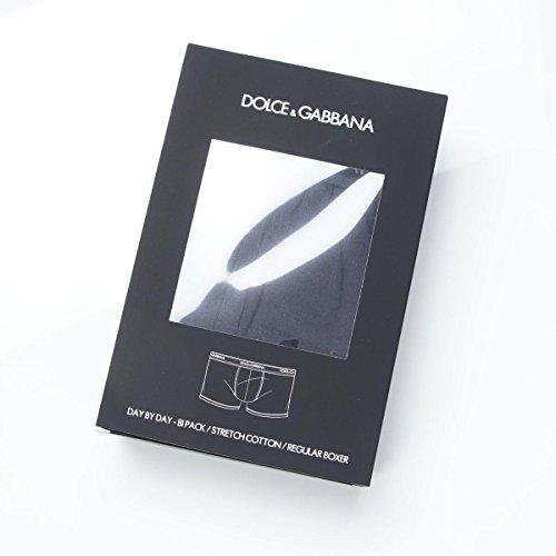 (ドルチェ&ガッバーナ) DOLCE&GABBANA ボクサーパンツ/2枚セット/DAY BY DAY BIPACK REGULAR BOXER【返品交換不可】 [並行輸入品]