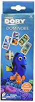 Disney Finding Dory Dominoes in a 5 Panel Box - 28 Plastic Dominoes