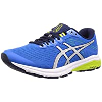 ASICS GT-1000 8 Men's Running Shoes, Electric Blue/Silver