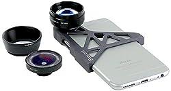 【国内正規品】ExoLens 広角・望遠レンズとブラケット iPhone6対応 9472201