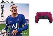 【PS5】FIFA 22 + DualSense コズミック レッド セット
