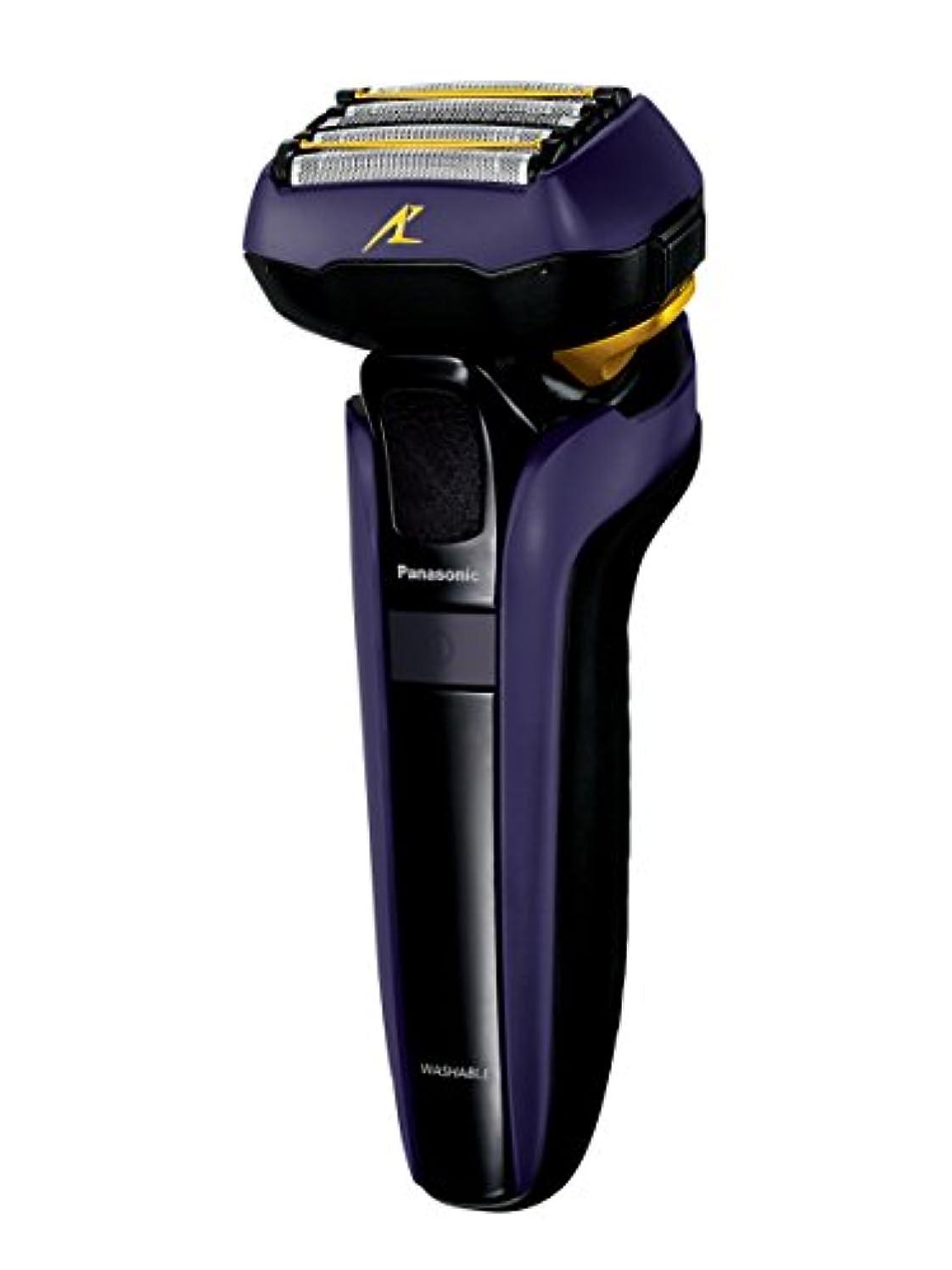 コメンテーター測定変位パナソニック ラムダッシュ メンズシェーバー 5枚刃 青 ES-LV7D-A