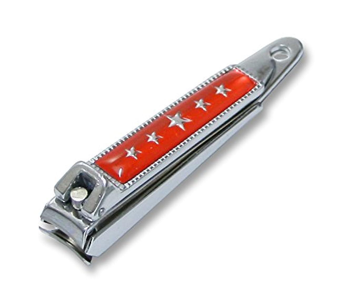 素朴な後世逆にKC-052RD 関の刃物 関兼常 チラーヌ爪切 小 赤
