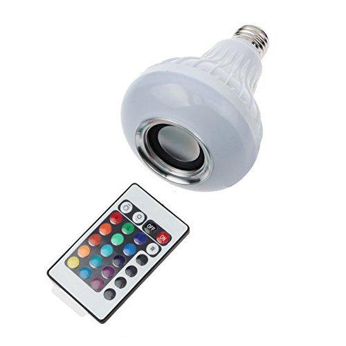 RoomClip商品情報 - 超省エネ多彩音楽ランプ スマートLED電球 スピーカー内蔵 Bluetooth3.0搭載 音楽再生 光色 輝度 コントロール可 E26口金