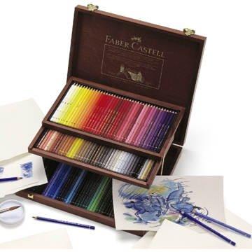 ファーバーカステル アルブレヒトデューラー水彩色鉛筆120色(木箱入り/1段収納)FA-117513