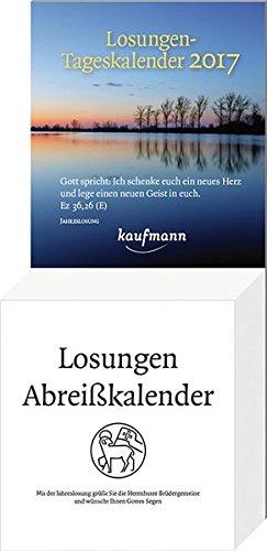 Losungen-Tageskalender 2017: Die taeglichen Losungen und Lehrtexte