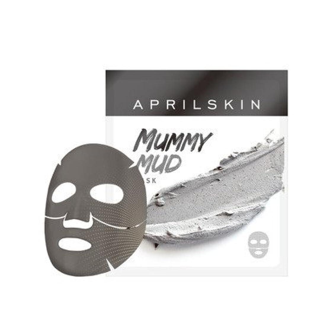 確認してください戻る保存APRILSKIN MUMMY MUD MASK/エイプリルスキン ミイラ泥マスク 1枚 [並行輸入品]