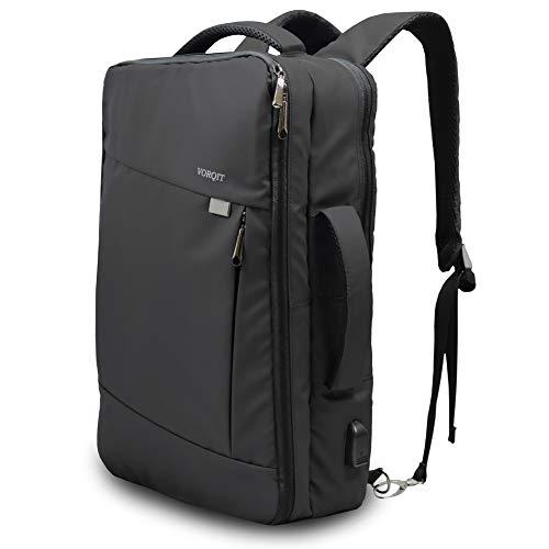 VORQIT (ボルチット) ビジネスリュック メンズ バッグ 3way USB充電ポート付き 大容量 出張 B4 PC 撥水 耐...