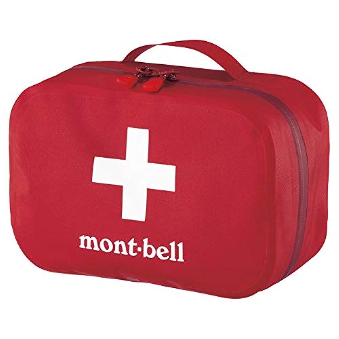 前奏曲部族不良モンベル(mont‐bell) ファーストエイドバッグ M レッド