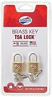 [アメリカンツーリスター] AmericanTourister 旅行小物 鍵 TSA ブラス キーロック 2個入り Z19*86002 86 (ゴールド ブラス)