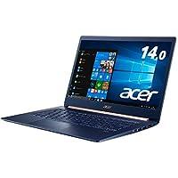 Acerノートパソコン Swift5/軽さ970g/薄さ14.9mm/14.0型FHD IPSタッチパネル/Core i5/8GB/512G SSD/Windows 10 /Office H&B 2019/ SF514-53T-H58Y/BF/チャコールブルー