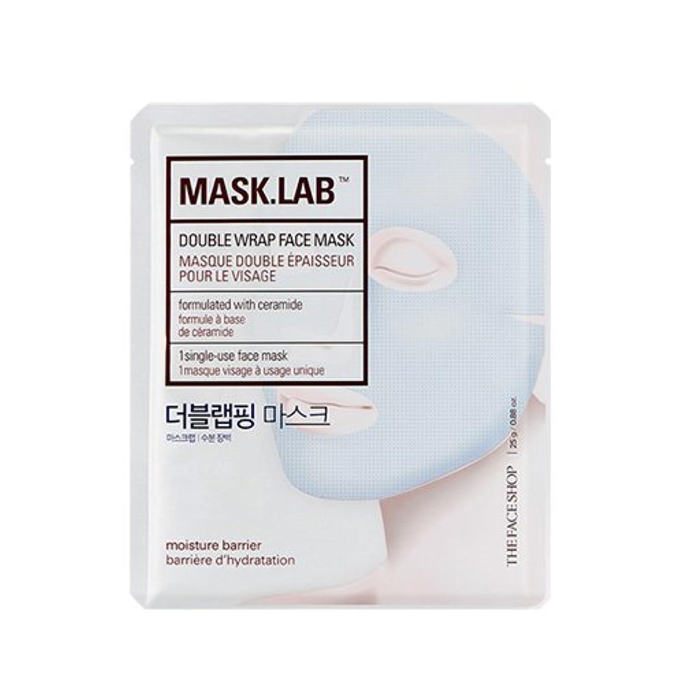 学校教育粘り強いどういたしましてTHE FACE SHOP Mask Lab Double Wrap Face Mask 25g×5EA/ザフェイスショップ マスク ラボ ダブル ラップ フェイスマスク 25g×5枚
