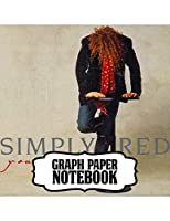 Notebook: Simply Red British Soul And Pop Band Mick Hucknall Singer Songwriter Best New Artist in 1987, Primary Copy Book, Soft Glossy Cover Kids Adults Elementary, Notebooks , Diary, One Subject 110 Pages