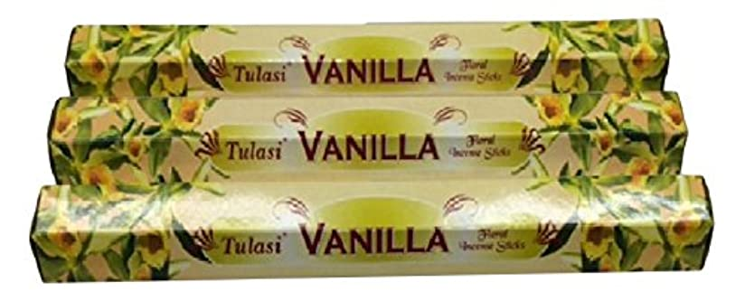 リマークダムゴールTULASI サラチ STICKS お香 60本入り VANILLA バニラ 640098-3