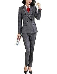 レディース 2点セットスーツ OL オフィス 就活 ビジネス 通勤 リクルート 事務服 パンツトスーツ