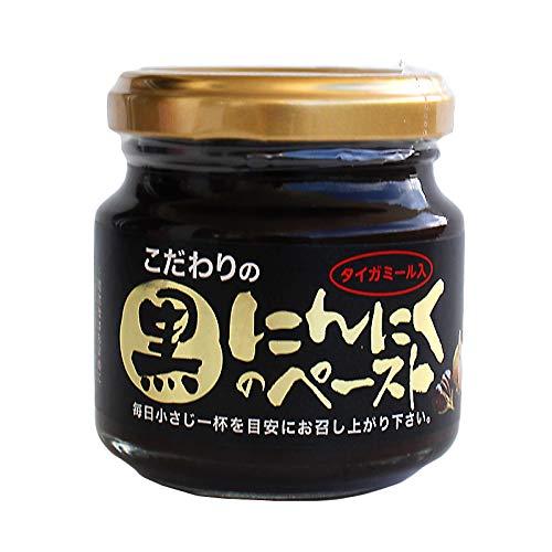 こだわりの黒にんにくペースト 100g×4瓶 敬天農林 熟成黒にんにく使用 タイガーミール 化石サンゴ入り