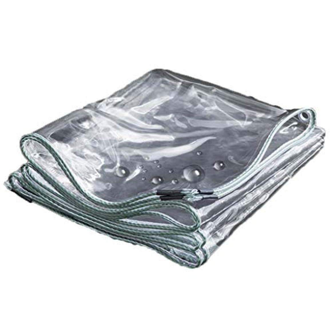 第二全く楽な樹脂ポリ塩化ビニールの防水シートのナイフのこする布の強い防水日焼け止めポンチョの家族の外のキャンプ場のスポーツのハイキングのテントの防水布の厚さ0.3 mm透明