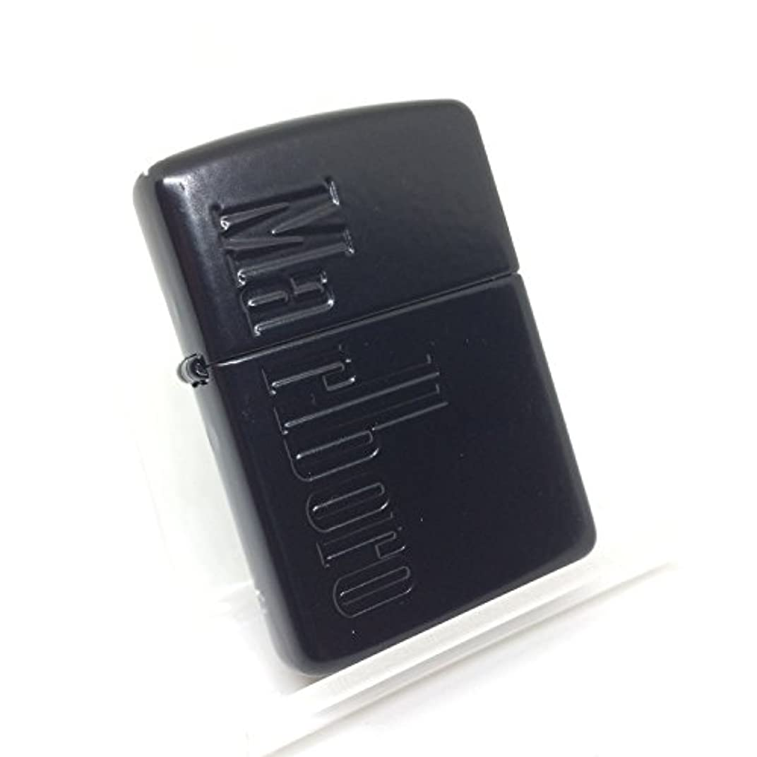 アマチュアマントリボンMarlboro マルボロ ZIPPO ジッポー オール ブラック加工 アーマー仕様