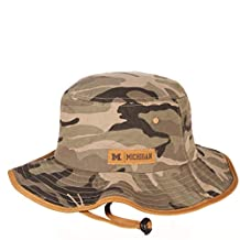 Zephyr NCAA Mens Machete Bucket Hat