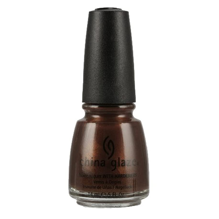 郵便番号結紮ハッチCHINA GLAZE Nail Lacquer with Nail Hardner 2 - Unplugged (並行輸入品)