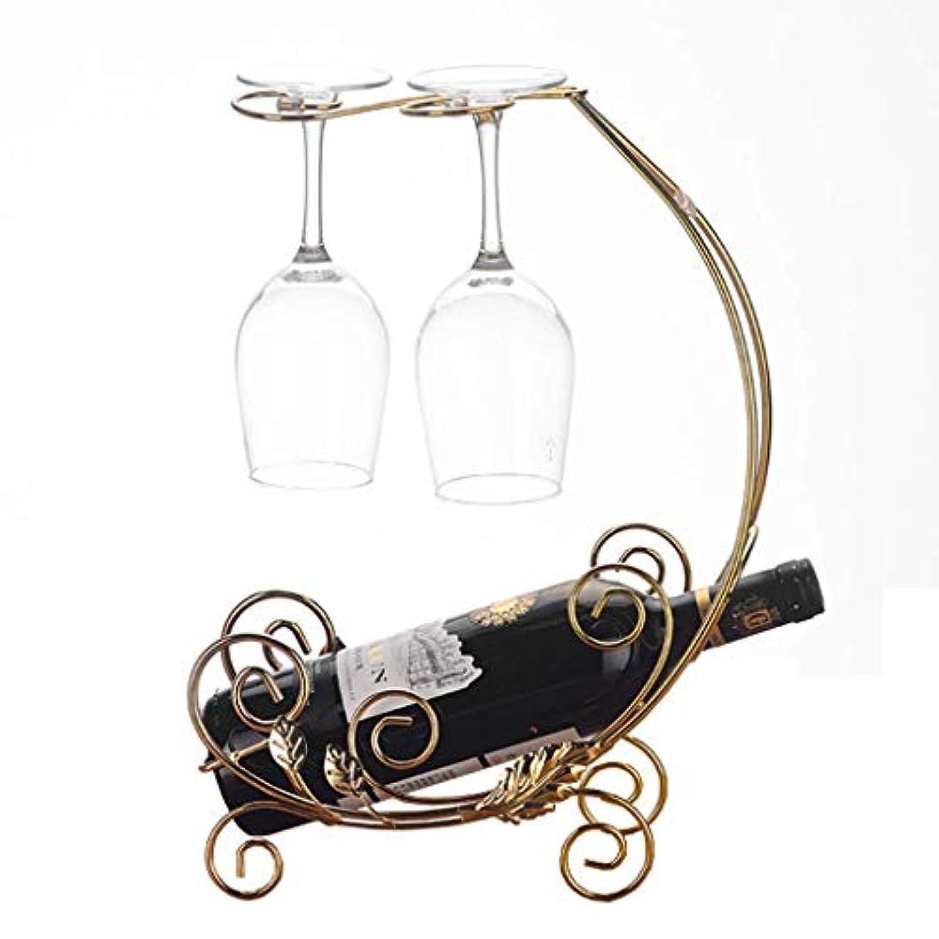相対的共感する裸ワインラッククリエイティブワイングラスホルダーヨーロッパのキッチンカウンター独立したワイングラス収納ラックバークリエイティブシンプルな杯ディスプレイスタンドラック