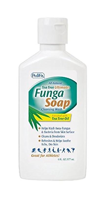 シャベル親密なワーディアンケースファンガソープ 177ml/ FungaSoap Cleansing Wash [海外直送品] [並行輸入品]
