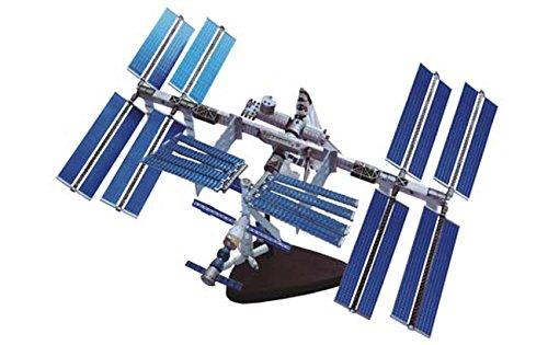 青島文化教材社 スカイネット 立体パズル 4D VISION 宇宙 No.1 国際宇宙ステーション&スペースシャトル 彩色済みパズル