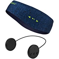 Blueear Bluetooth Headband V4.2ブルートゥース音楽運動ヘッドバンド ワイヤレスイヤホンスカーフ 8時間音楽放送 通話機能付き アウトドアスポーツに適用する ジョギング ハイキング 山登り ヨガ スケート フィットネス 各シーズンに適合する